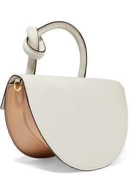 Yuzefi Dolares Bag in Ash/Cream Back View from The New Trend