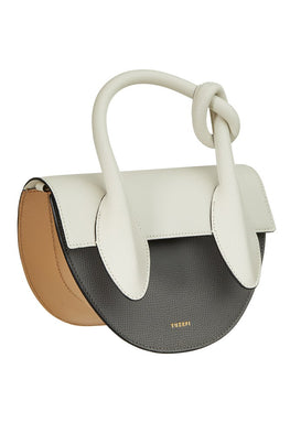 Yuzefi Dolores Bag in Ash/Cream Side View from The New Trend