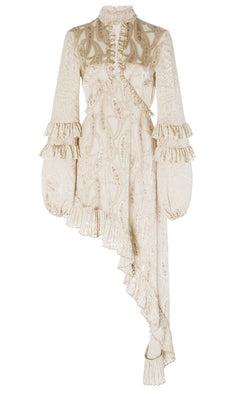 Alexis Liora Cream Paisley Mini Dress from The New Trend