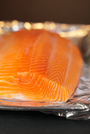 Sashimi Cut Salmon Fillet 2 lbs