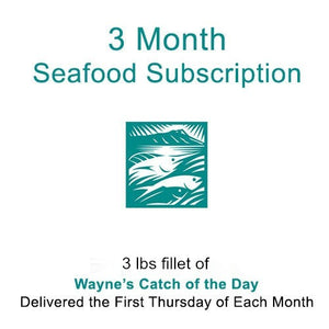 3 Month Catch Of The Day Subscription