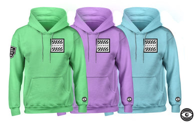 Pretty In Pastel Hoodies