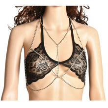 Crystal Chain  Body Necklace