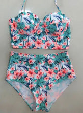 "Fun New High Waist ""India"" Bikini Set"