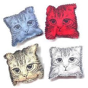 Catnip Kitty Pillow