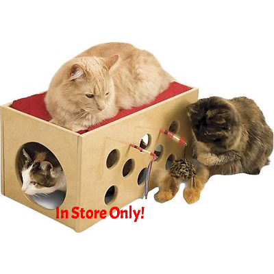 Bunk Bed & Playroom for Cats - In Store Only