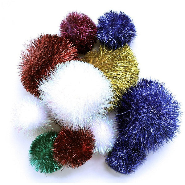 Sparkle Balls - Large Tuff Kitty Puff
