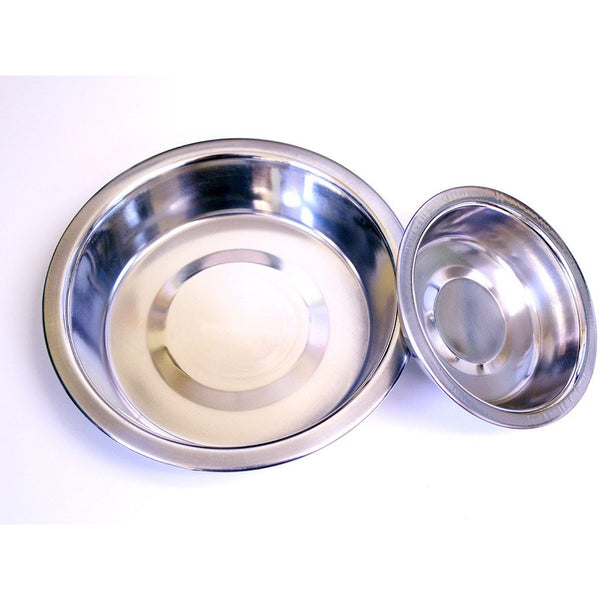 Stainless Steel Shallow Bowls