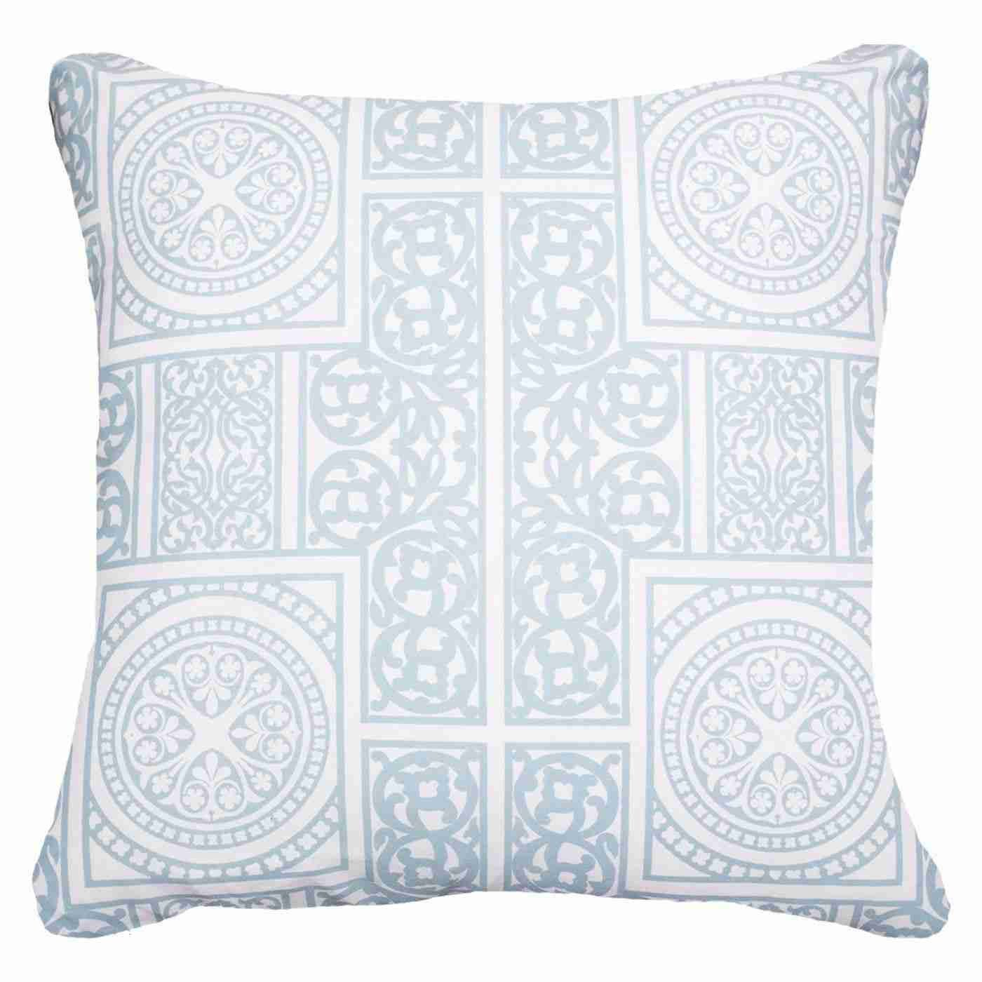 Madrid Blue Lounge Cushion 55x55cm