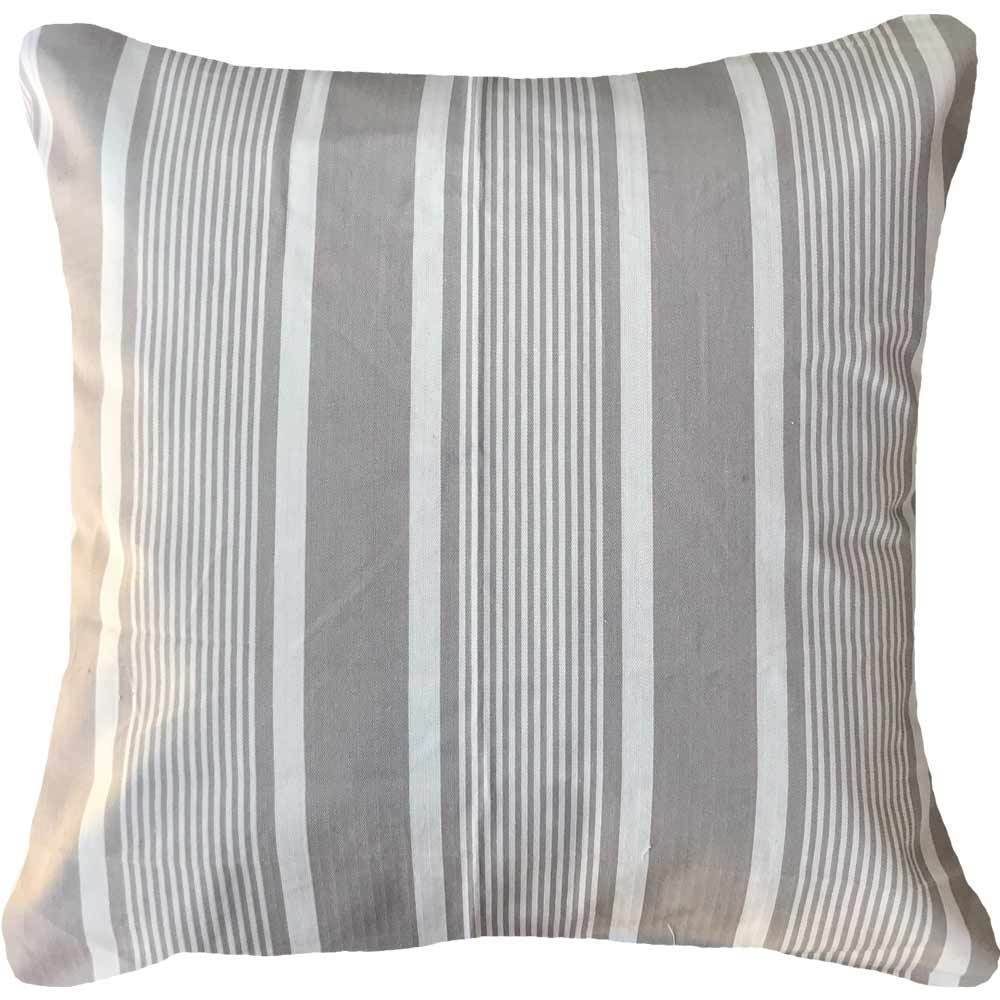 Bandhini Homewear Design Euro Cushion Gold / 25 x 25 Stripe Ticking Euro Cushion 65 x 65 cm