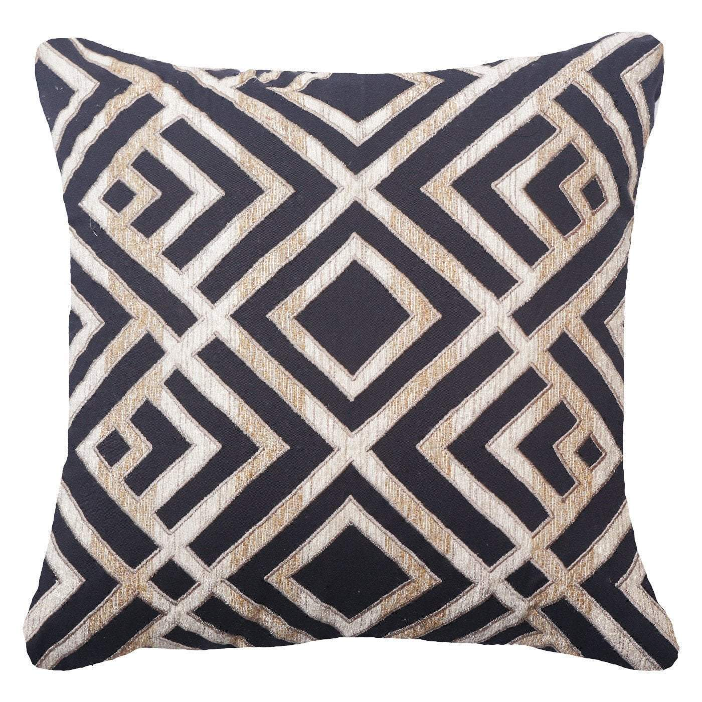 Shoowa Arrow Black Lounge Cushion 55 x 55 cm