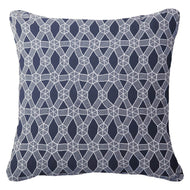 Bandhini Homewear Design Lounge Cushion Navy / Naval Sea / 22 x 22 Kamari Navy Lounge Cushion 55x55cm