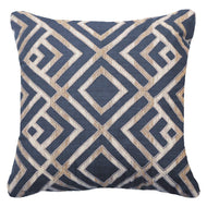 Shoowa Arrow Navy Lounge Cushion 55 x 55 cm