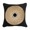 Bandhini Homewear Design Medium Cushion Black / Primitive Tribe / 20 x 20 African Shield Black Medium Cushion 50x50cm