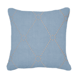 Bandhini Homewear Design Medium Cushion Cloud / Naval Sea / 19 x 19 Dot Diamond Cloud Medium Cushion 50x50cm