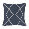 Bandhini Homewear Design Medium Cushion Navy / Naval Sea / 20 x 20 Dot Crop Circles Navy Medium Cushion 50x50cm