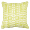 Bandhini Homewear Design Medium Cushion Sea Green / Naval Sea / 18 x 18 Screen Lime Medium Cushion 50 x 50 cm