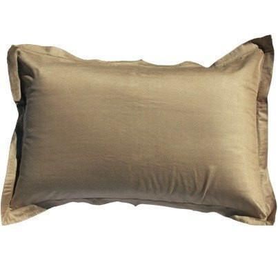 "Bandhini Homewear Design Sham Cushion Sea Green / 20th Year Sale / 14"" x 21"" Paper Silk Kelp Sham Cushion 46 x 97 cm"