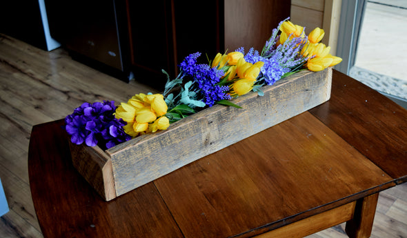 "Centerpiece Planter Box - ""The Banner Box"""