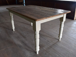 The Heartland - Reclaimed Chestnut Harvest Table