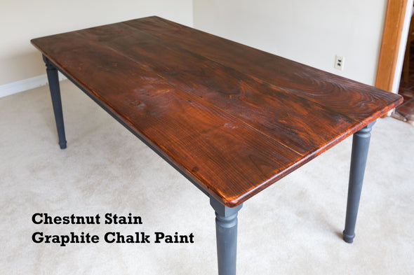 The Mountain Laurel - Sawmill Pine Farmhouse Table