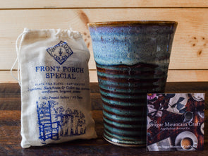 Moss Tumbler & Artisan Tea - Great Gift Idea