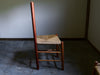 Shaker Style Ladder Back Rush Chair - Cherry Wood - by Sugar Mountain Woodworks