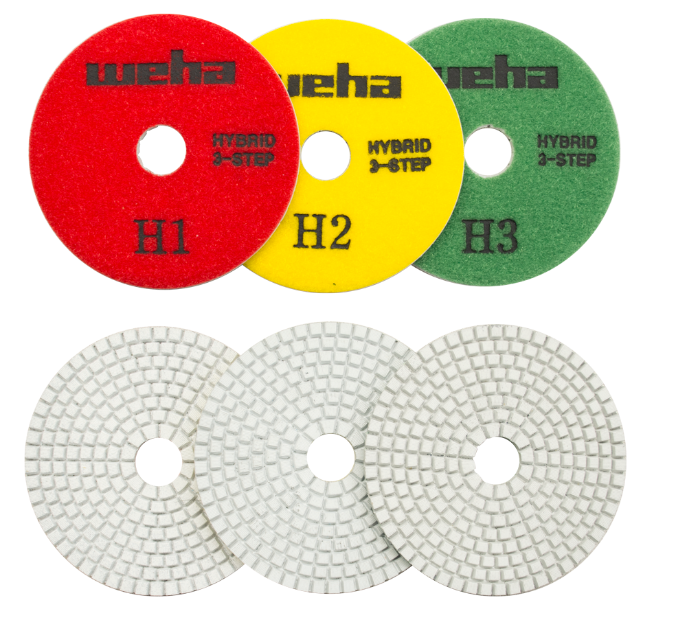 3 Step Premium Polishing Pads