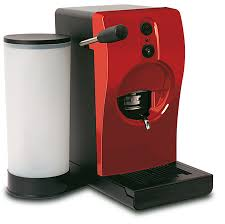 Tube coffee machine