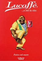 Lucaffe Classic poster in shipping sleeve