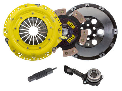 ACT HD Clutch Kit 6 Puck with Flywheel Ford Focus ST 2013+
