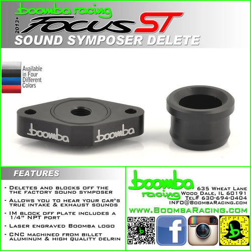 Boomba Racing Sound Symposer Delete Focus ST 2013+
