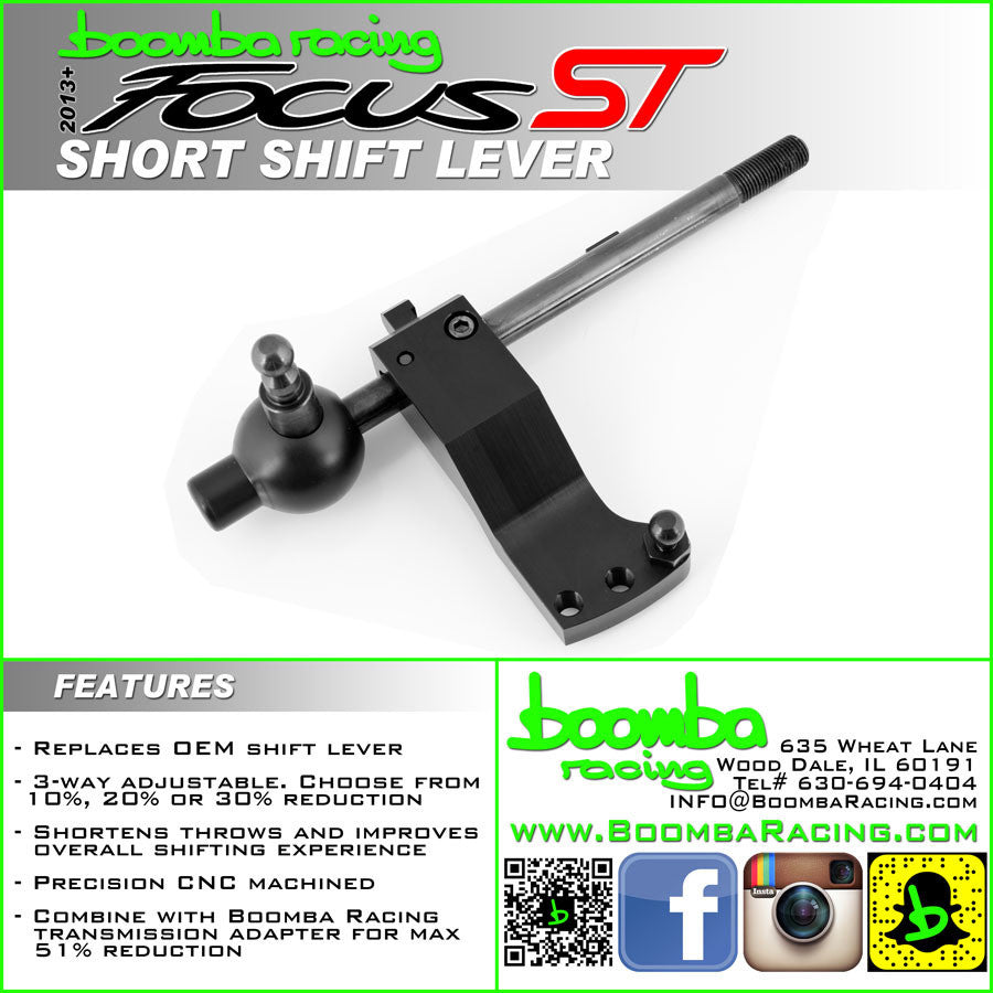 Boomba Racing Short Throw Shifter Focus ST 2013+