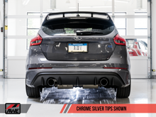 AWE Cat-Back Exhaust System Touring Edition Resonated With Chrome Tips Focus RS 2016+