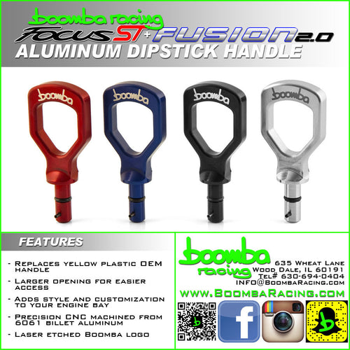 Boombe Racing Aluminum Dipstick Handle Focus ST 2013+