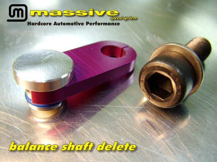 Massive Speed Balance Shaft Delete Ford Focus ST 2013+/Ford Focus RS 2016+
