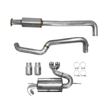 AWE Cat-Back Exhaust System Touring Edition Resonated With Chrome Silver Tips Focus ST 2013+