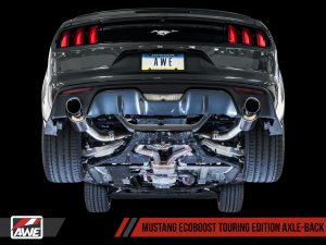 AWE S550 Axle-back Exhaust Touring Edition Mustang EcoBoost 2015+