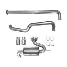 AWE Cat-Back Exhaust System Touring Edition Non-Resonated With Chrome Silver Tips Focus ST 2013+