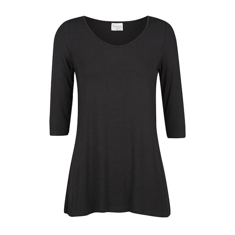 Bamboo Body 3/4 Sleeve St Tropez Top