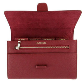 CBT Saffiano Leather Travel Wallet