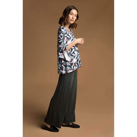 Bamboo Body Luxe Wide Leg Pants | Travel Clothes | Travel Wardrobe