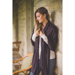 Bamboo Body Bamboo Cashmere Wool Travel Wrap