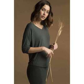Bamboo Body Dolman Sleeve Top