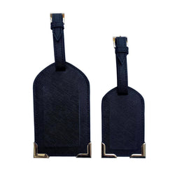 CBT Saffiano Leather Luggage Tag Set
