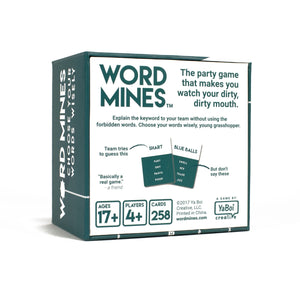 WORD MINES - Word Mines, Card Game - party card game