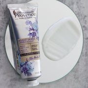 The non-oily texture for this natural hand cream enriched on lavender & angelica helps you to protect and nourish your hands daily. perfect for natural hand care - Mademoiselle Provence