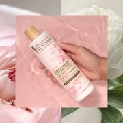 Mademoiselle Provence Natural rose and peony body wash for silky and radiance skin. Ultra hydrating body wash. Ultra moisturizing and gentle body wash for silky soft skin. Made in France body wash