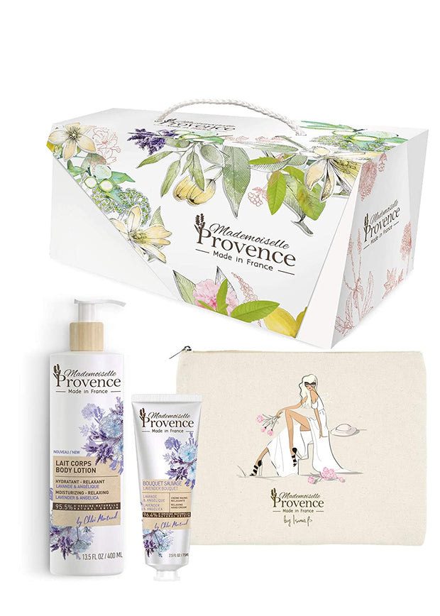 Deluxe Lavender & Angelica Collection Gift Set