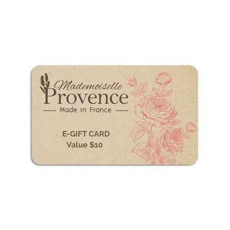 Products mademoiselle provence e gift card negle Image collections